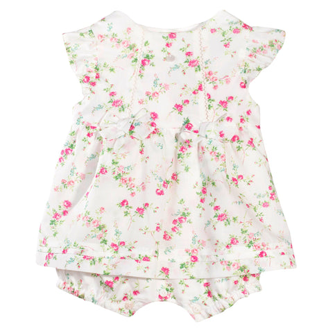 Patachou Girls Floral Romper