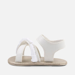 Mayoral Girls White Sandals
