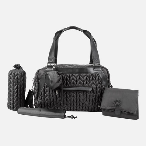 Mayoral Black Padded Changing Bag