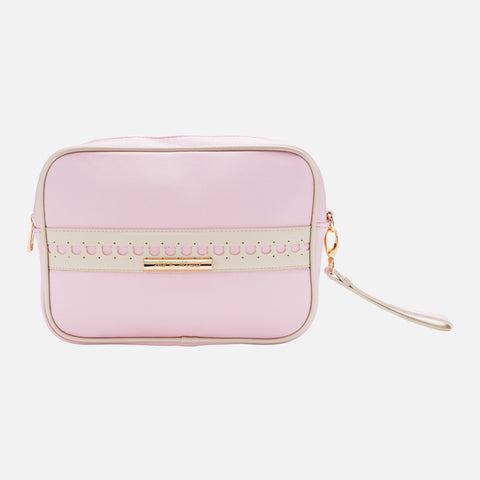 Mayoral Pink Leatherette Toiletry Bag