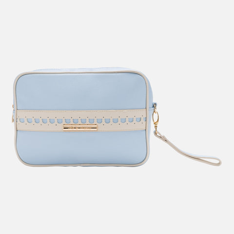 Mayoral Blue Leatherette Toiletry Bag