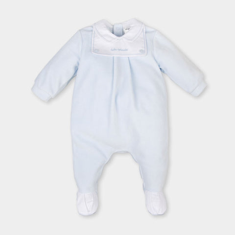 Absorba Cloud Design Ivory & Grey Babygrow