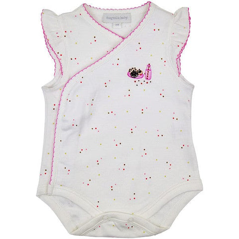 Magnolia Baby Cookies Design Body with Pink Trim