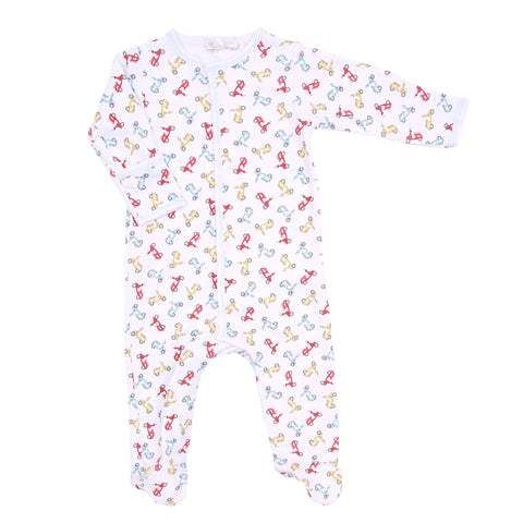 Magnolia Baby 'Scooting By' Babygrow
