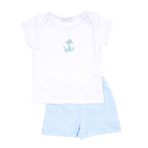 Magnolia Baby 'Anchors' Boys Two Piece Set