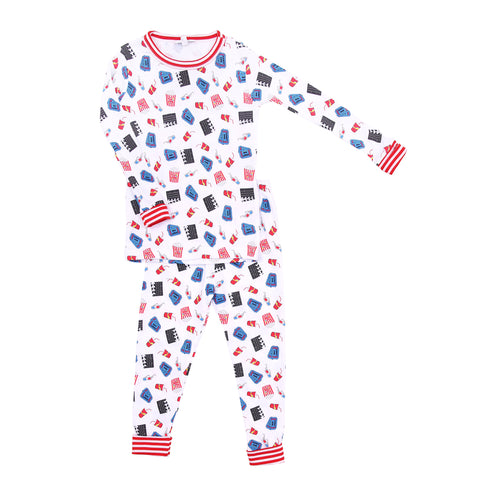 Magnolia Baby 'Movie Night' PJ Set