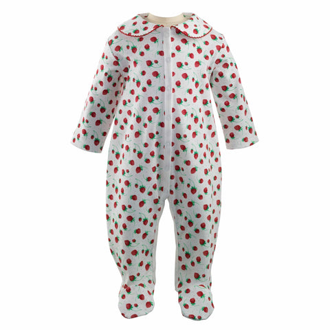 Rachel Riley Strawberries Babygrow