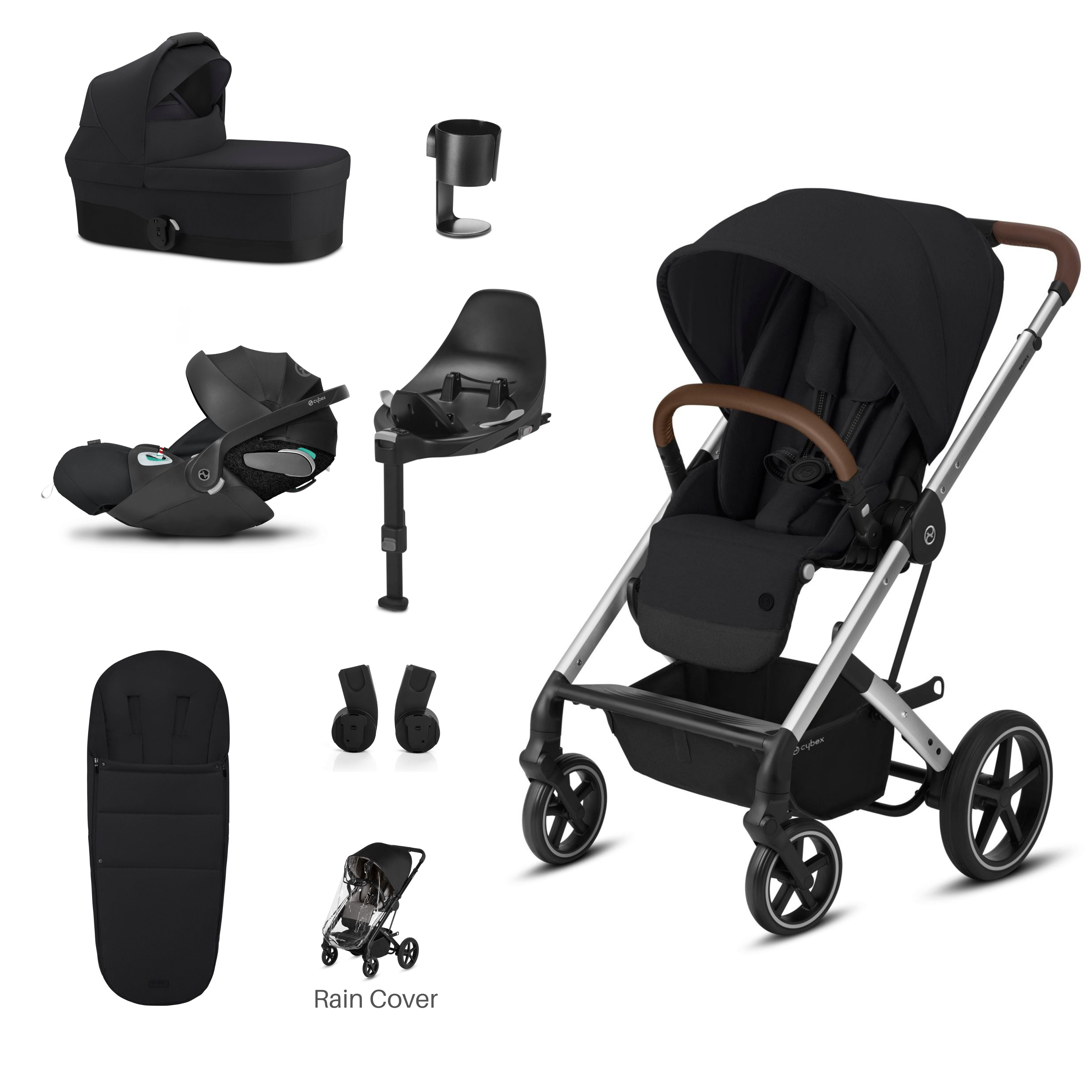 Bimbalo Bow Tie Design Blue Velour Babygrow