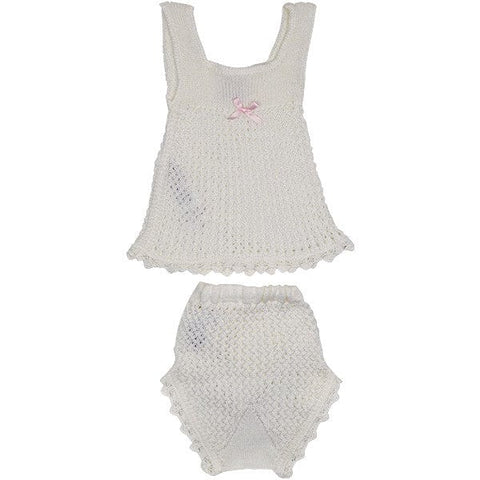 Paz Rodriguez Knitted Two Piece Set