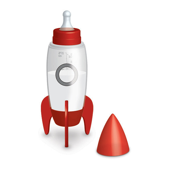 Bubblegum Stuff Rocket Baby Bottle
