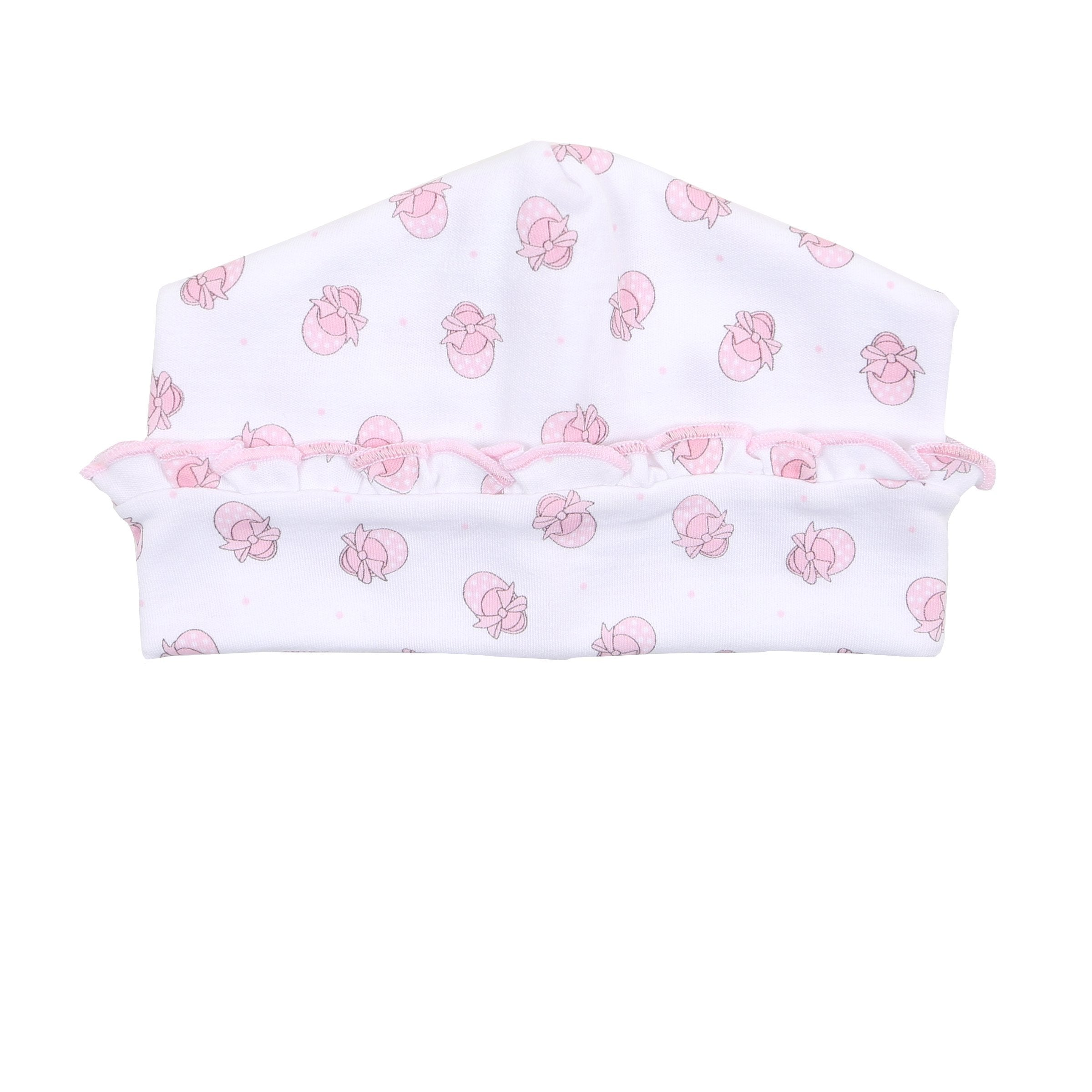 193ebcba1 Magnolia Baby 'Baby's First Shoes' Hat | Bababoom Baby Boutique