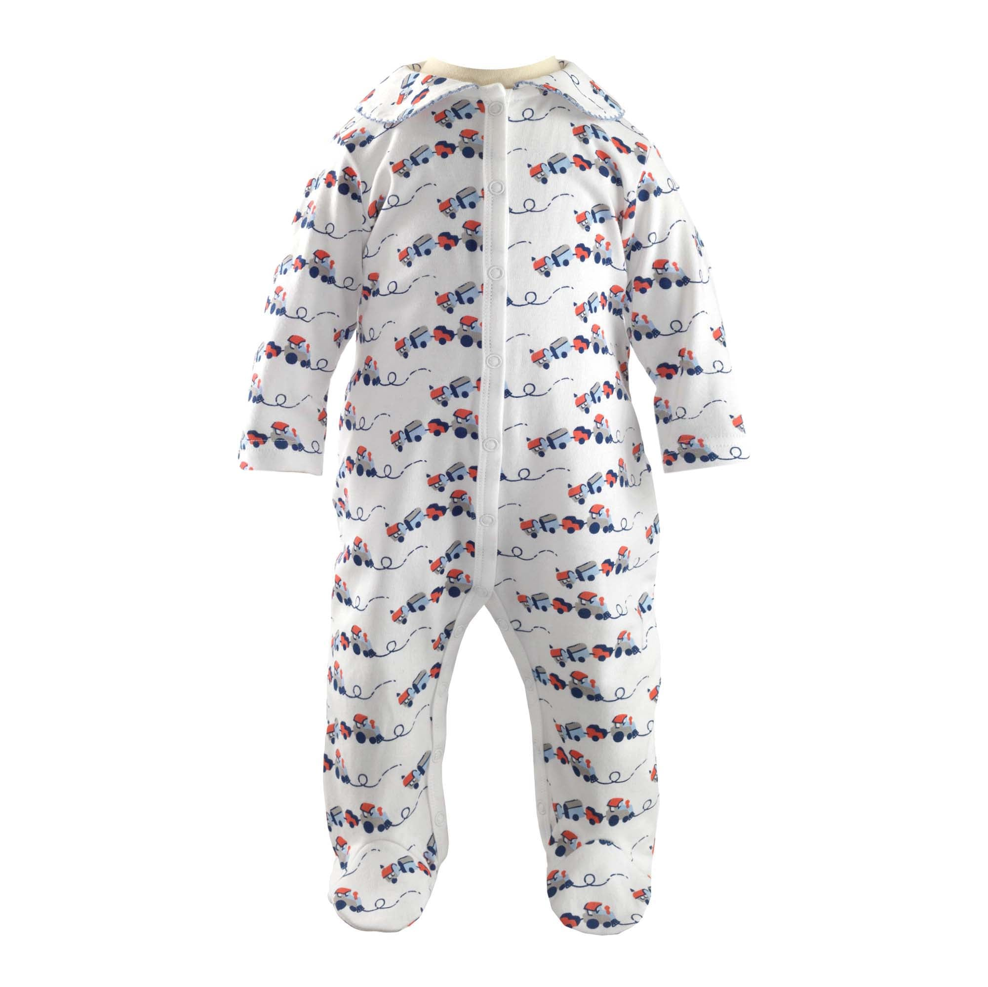 Rachel Riley Toy Trains Babygrow