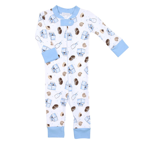 Magnolia Baby Blue 'Cookies & Milk' Playsuit