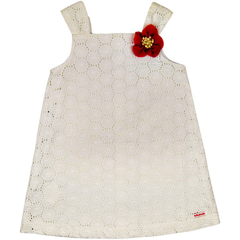 Tutto Piccolo Broderie Anglaise Dress