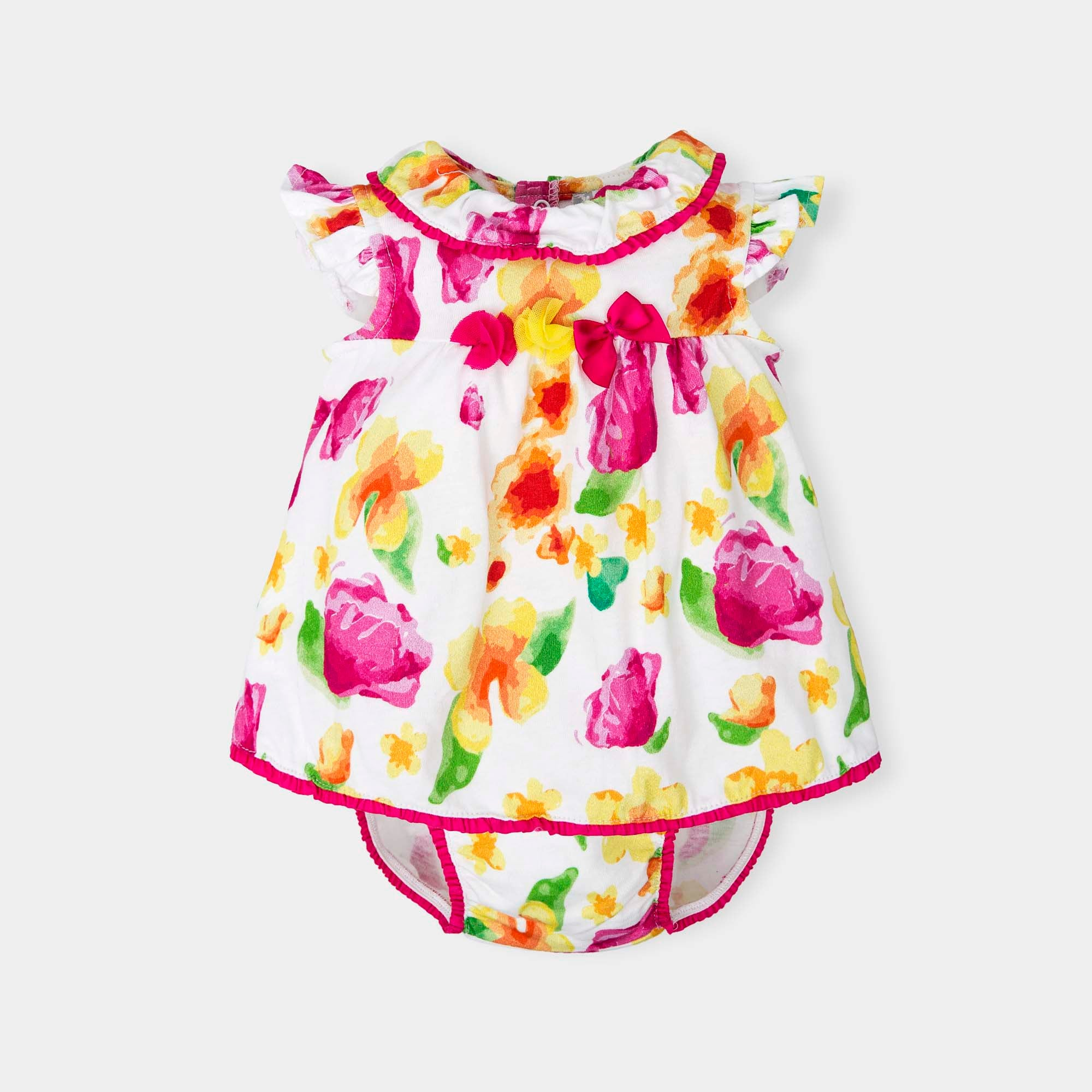 Tutto Piccolo Floral Dress with Knickers