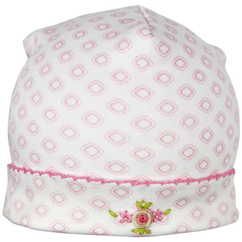 Magnolia Baby Pink & White Hat