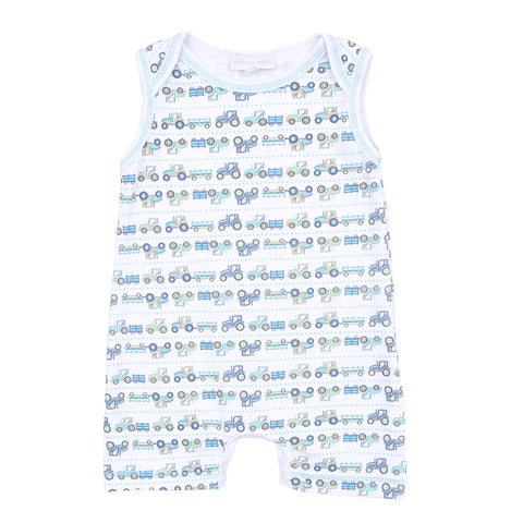 Magnolia Baby 'Tractor Time' Romper