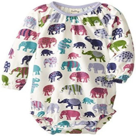 Hatley Elephants Design Long Sleeve Body