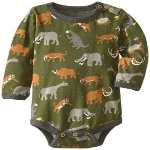 Hatley Prehistoric Animals Design Long Sleeve Body