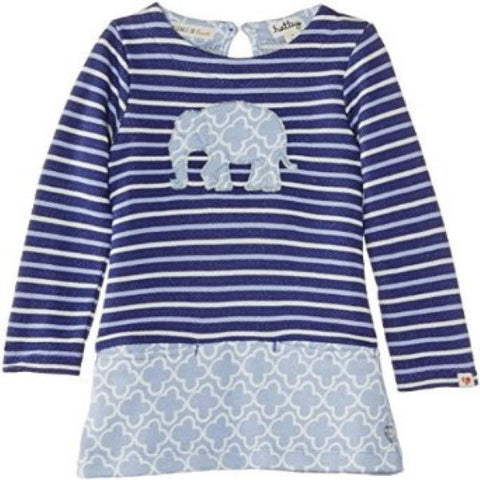Hatley Patterned Dress with Elephants Design