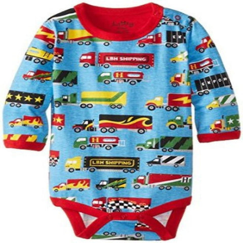 Hatley Big Rig Trucks Design Long Sleeve Body