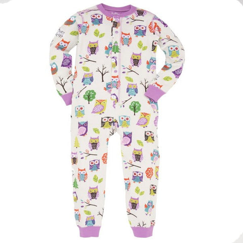 Hatley Party Owls Design Playsuit