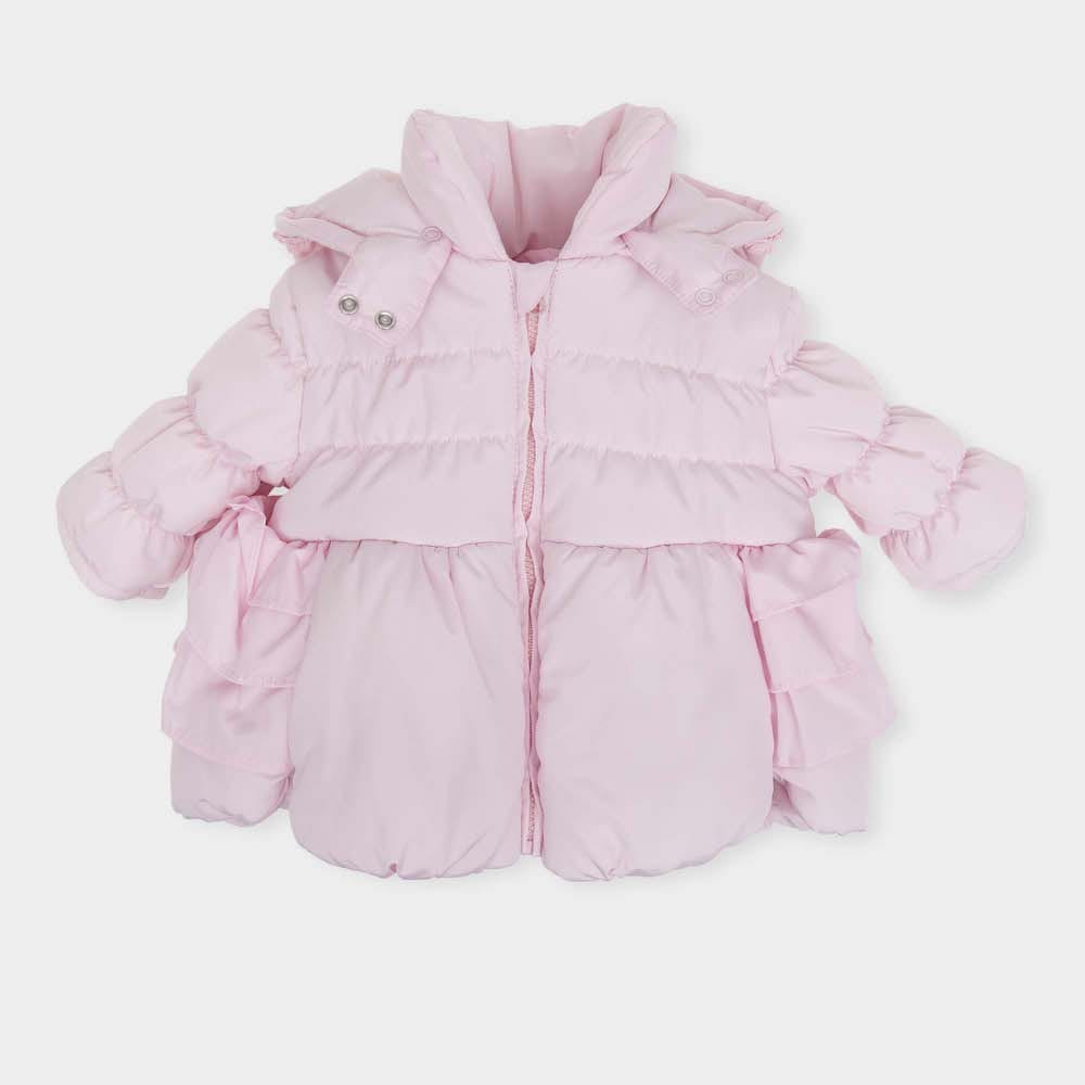 1f310a36d8b8 Tutto Piccolo Girls Pink Coat