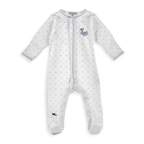 Magnolia Baby 'Puppy Playdate' Footed Babygrow