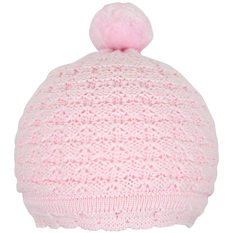 Kissy Kissy Pink Knitted Hat