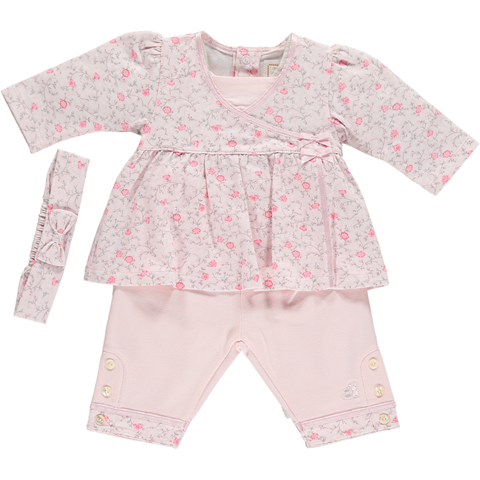 Emile et Rose Floral Two Piece Set