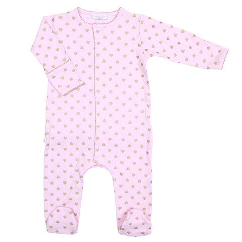 Tartine et Chocolat Grey Velour Babygrow
