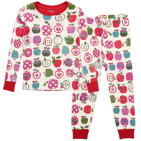 Hatley PJ Set with Apples Design