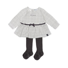 Tutto Piccolo Girls Dress with Tights