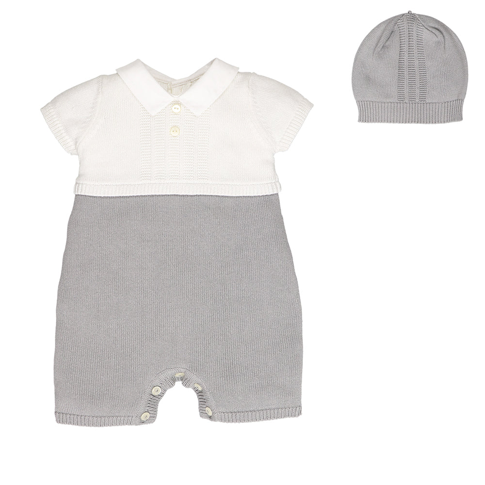 Emile et Rose 'Paddy' Knitted Romper