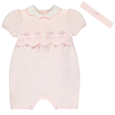 Emile et Rose 'Stella' Romper with Headband