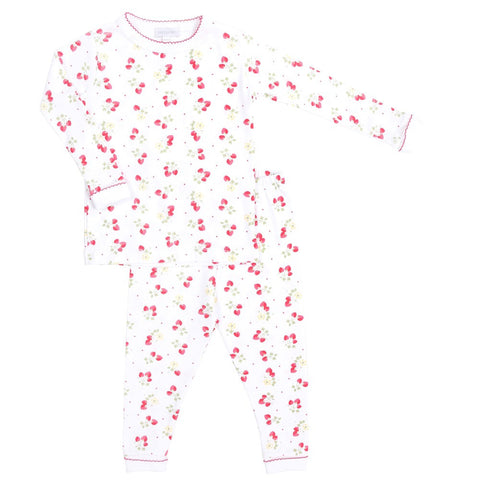 Magnolia Baby 'Strawberry Fields' PJ Set