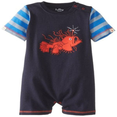 Hatley Fish Design Romper