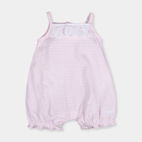 Tutto Piccolo Pink & White Striped Body