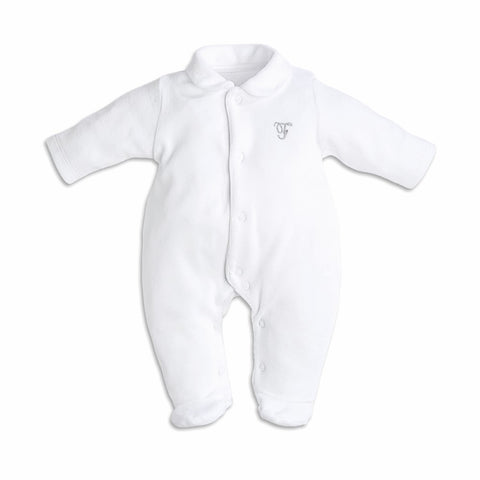 First Wings Design White Babygrow
