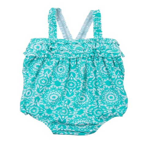 Hatley 'Tiled Mandela' Baby Swimsuit