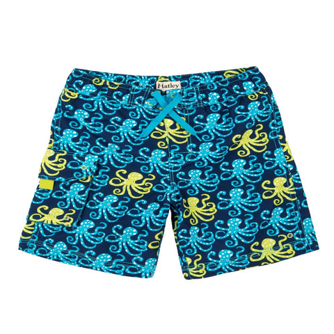 Hatley 'Deep Sea Octopus' Swim Shorts