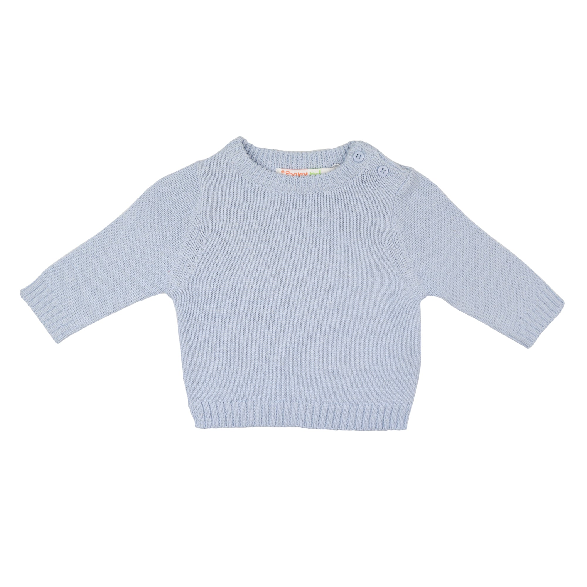 Babybol Blue Knitted Jumper