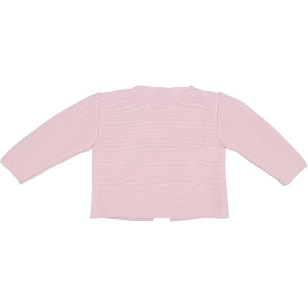 Paz Rodriguez Pink Knitted Cardigan