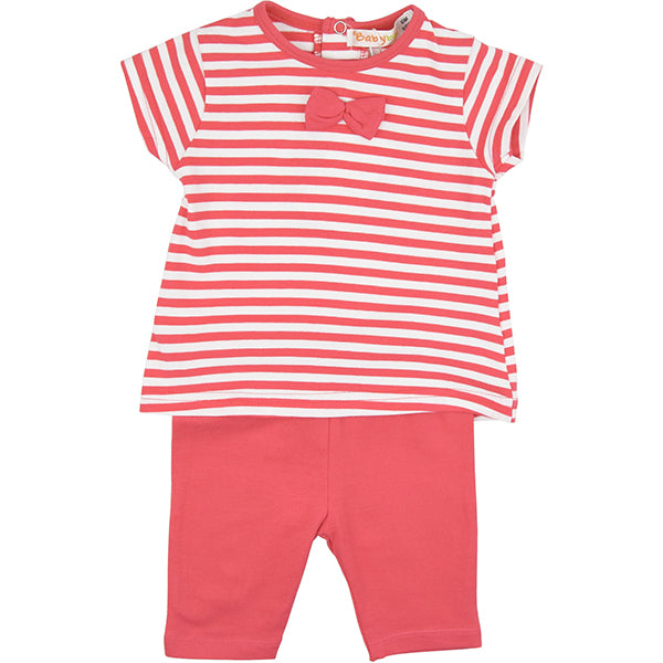 Babybol Red & White Two Piece Set