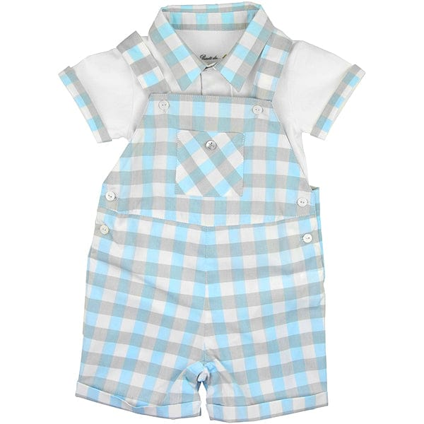 Purete Du... Bebe Gingham Two Piece Set