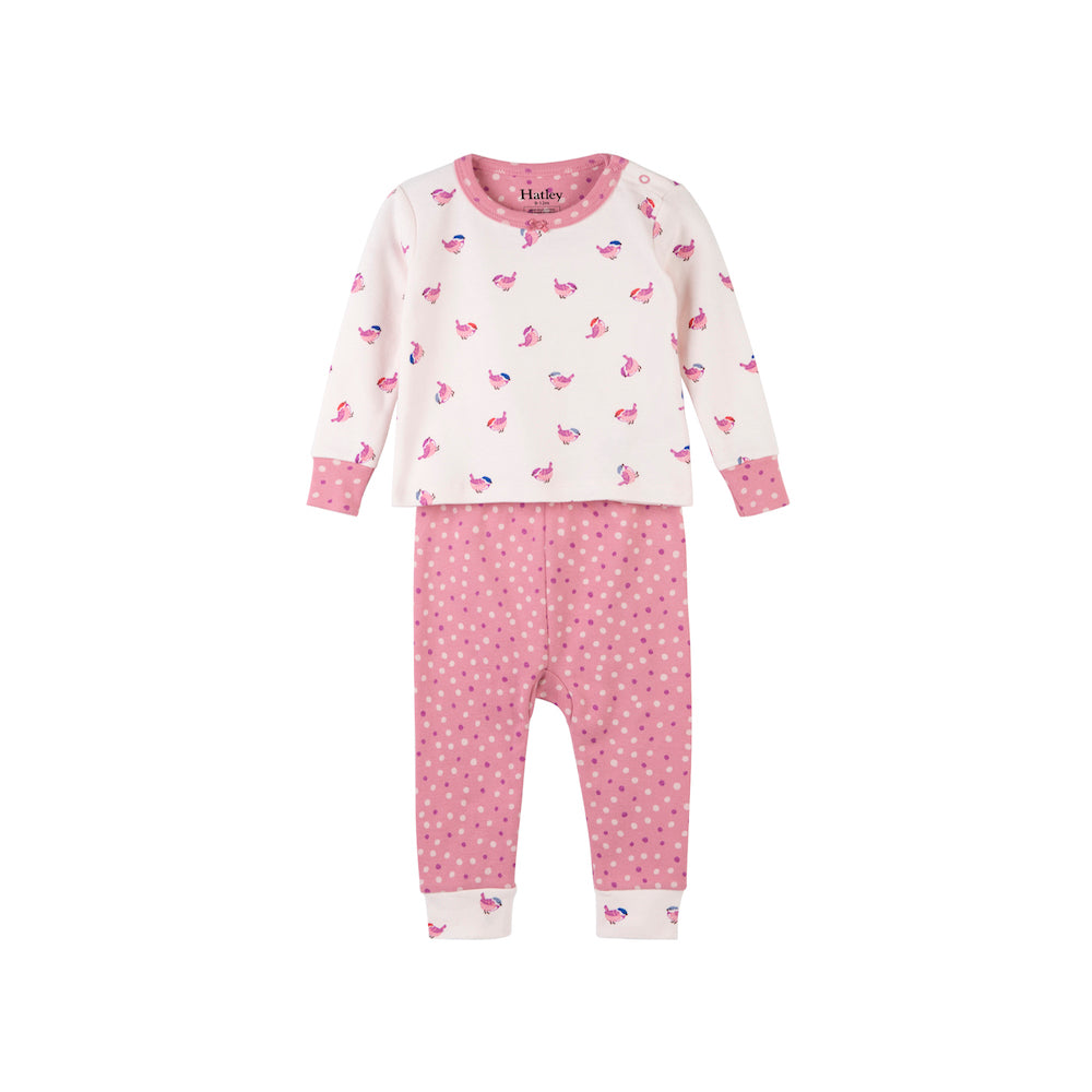 Hatley 'Birdies' Girls PJ Set