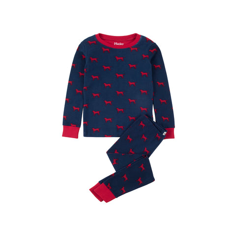 Hatley Dogs Design PJ Set