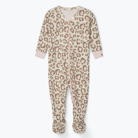 Hatley 'Painted Leopard' Babygrow