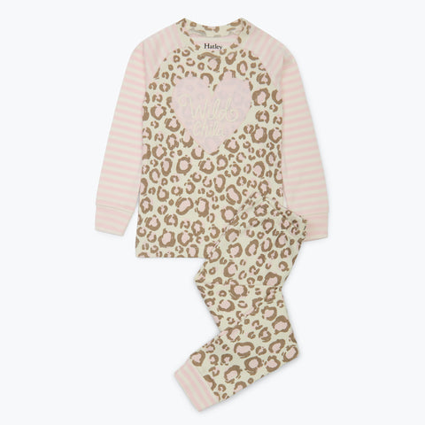 Hatley 'Painted Leopard' PJ Set