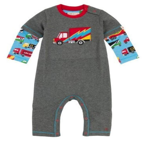 Hatley Big Rig Trucks Design Romper